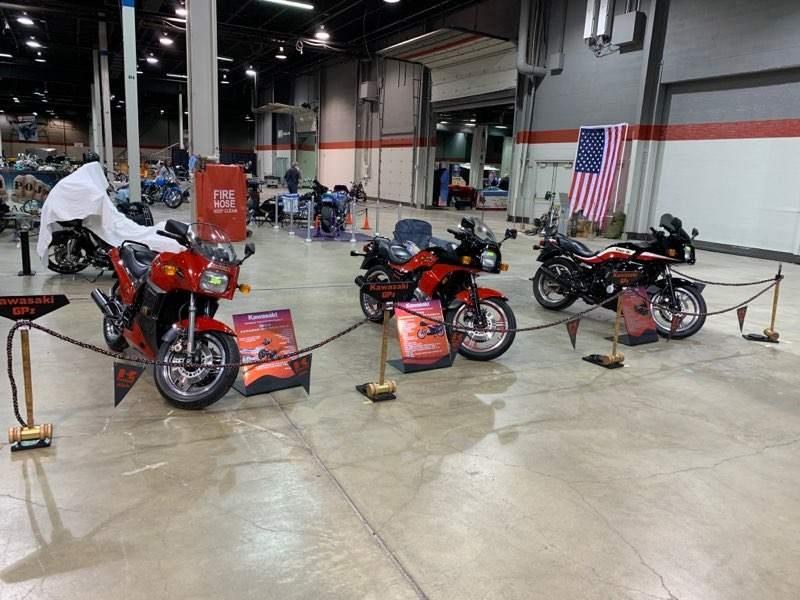 Drytac Polar Chrome at Motorcycle Show